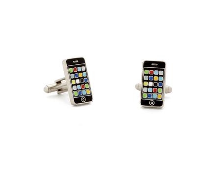 Smart Phone Cuff Links - 1 Pair