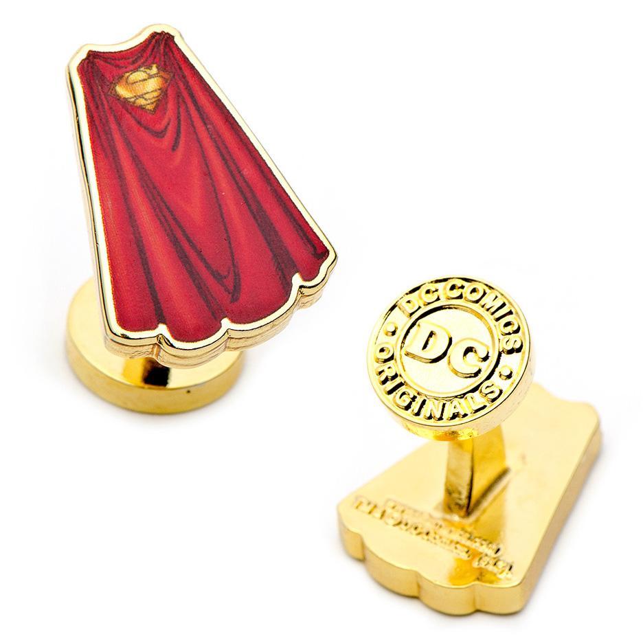 Superman Cape Cuff Links - 1 Pair CUF-DC-SC-GL