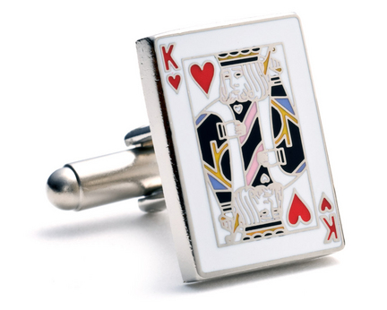 Classic King Cuff Links - 1 Pair