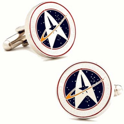 Star Trek Starfleet Command Cuff Links - 1 Pair