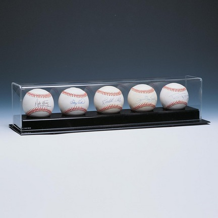 Deluxe Collectors 5 Ball Display Case