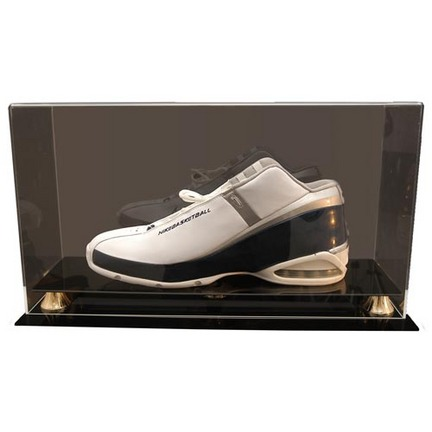 Single Baseball Shoe Display Case Up to Size 17