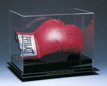 Single Horizontal Boxing Glove Display Case