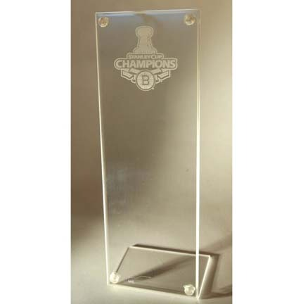 Boston Bruins 2011 Stanley Cup Champions Stand Up Ticket Holder CW-NHL-STH-L-ST11BOS