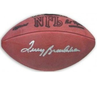 Buy Terry Bradshaw Pittsburgh Steelers NFL Autographed Official Football now!