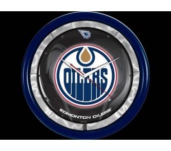 Buy Edmonton Oilers Plasma Neon Clock now!