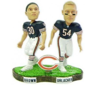 new product 3ccfb ebf96 Brian Urlacher and Mike Brown Chicago Bears Limited Edition ...