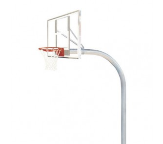 Buy Bison Mega Duty Basketball System with Polycarbonate Backboard now!