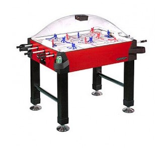Buy Signature Stick Hockey Game Table with Legs from Carrom Sports (Red) now!