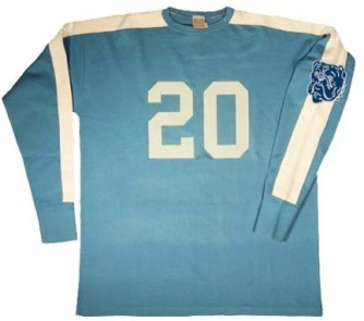 c8695b4412a 1949 New York Bulldogs Authentic Football Jersey from Ebbets Field ...
