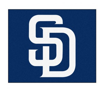 Buy 5' x 6' San Diego Padres Tailgater Mat now!