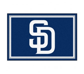Buy San Diego Padres 5' x 8' Area Rug now!
