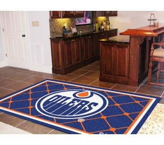 Buy Edmonton Oilers 5' x 8' Area Rug now!