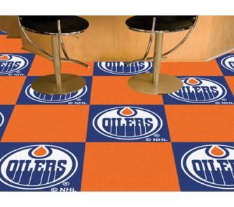 "Buy Edmonton Oilers 18"" x 18"" Carpet Tiles (Box of 20) now!"