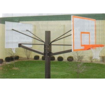"Buy Endurance Dual Playground Basketball System with 42"" x 60"" Steel Backboards and... now!"
