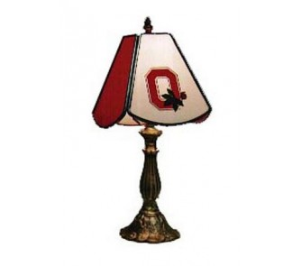 ohio state buckeyes mvp small stained glass table lamp. Black Bedroom Furniture Sets. Home Design Ideas