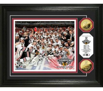 """Buy Chicago Blackhawks 2010 Stanley Cup Champions Celebration Framed 8"""" x 10""""... now!"""