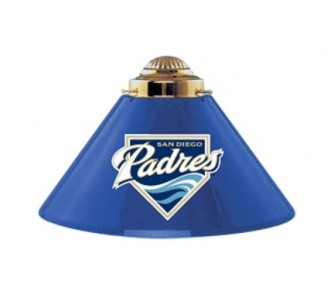 Buy San Diego Padres MLB Licensed Acrylic 3 Shade Team Logo Lamp from Imperial International now!