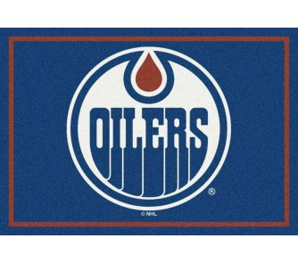 "Buy Edmonton Oilers 3' 10"" x 5' 4"" Team Spirit Area Rug now!"