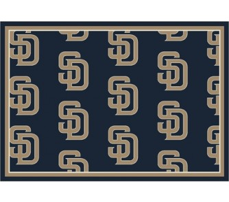 "Buy San Diego Padres 5' 4"" x 7' 8"" Team Repeat Area Rug now!"