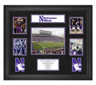 Buy Northwestern Wildcats 5-Photograph Framed Collage now!
