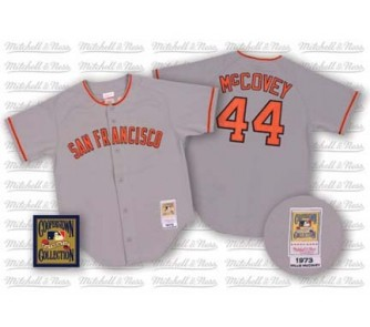 competitive price 53055 80adb Willie McCovey #44 1973 San Francisco Giants Authentic ...