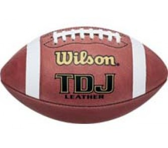 Buy Wilson TDJ Official Junior League Leather Footballs - Case of 6 now!