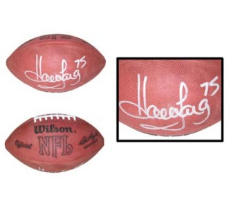 Buy Howie Long, Autographed Official Wilson Rozelle NFL Game Football now!
