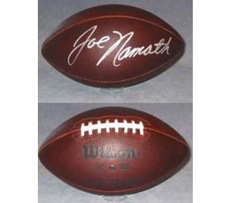 "Buy Joe Namath, New York Jets Autographed Wilson Official NFL ""Duke"" Game Model... now!"