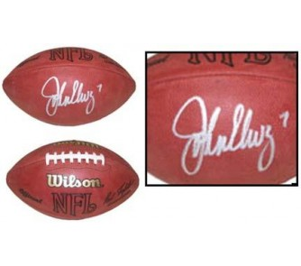 Buy John Elway Autographed Official Wilson NFL Game Football now!