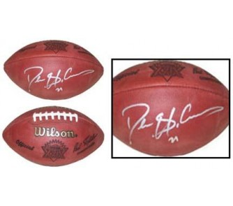 Buy Deion Sanders Autographed Official Wilson Super Bowl XXIX Game Football now!