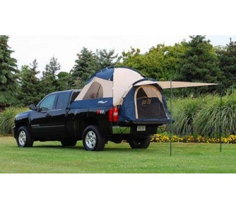 sportz iii full size long box truck tent for dodge ram trucks with 8 39 bed length. Black Bedroom Furniture Sets. Home Design Ideas