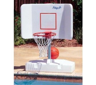 Wing It Water Basketball Hoop Game For Inground Swimming Pools By Pool Shot