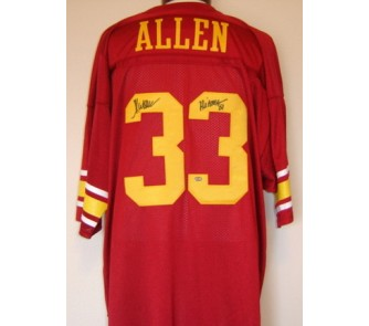 promo code c7524 558ff Marcus Allen USC Trojans Autographed Authentic Russell NCAA ...