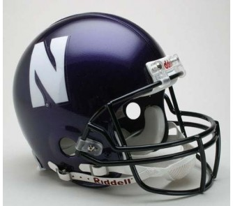 Buy Northwestern Wildcats NCAA Pro Line Authentic Full Size Football Helmet From Riddell now!