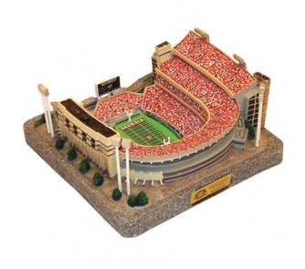 Georgia Bulldogs Limited Edition Collegiate Football Replica Stadium - Gold Series