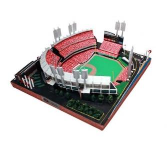 Great American Ballpark (Cincinnati Reds) Limited Edition MLB Baseball Platinum Series Replica Stadium