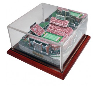 Oklahoma University Memorial Stadium (Oklahoma Sooners) Limited Edition Replica with Collector Case - Gold Series