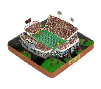 Lane Stadium (Virginia Tech Hokies) Limited Edition NCAA Football Platinum Series Replica Stadium