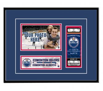 "Buy Edmonton Oilers ""Game Day"" Ticket Frame now!"