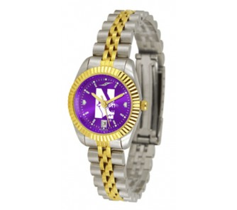 Buy Northwestern Wildcats Ladies Executive AnoChrome Watch now!