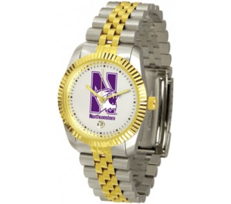 """Buy Northwestern Wildcats """"The Executive"""" Men's Watch now!"""