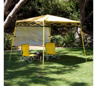 Quick Overview. Go Hybrid Backpack Canopy / Tent ... & Go Hybrid Backpack Canopy / Tent with Chairs Combo - (Yellow/Gray ...