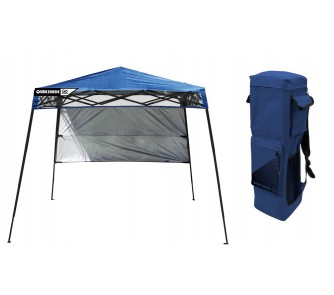 Quick Overview. Quik Shade Go Hybrid Backpack Canopy / Tent ...  sc 1 st  Online Sports & Quik Shade Go Hybrid Backpack Canopy / Tent - (Blue ...