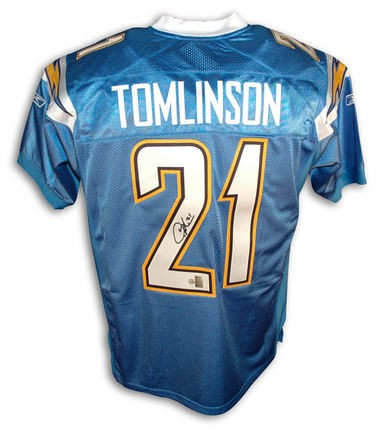 Ladainian Tomlinson San Diego Chargers Autographed