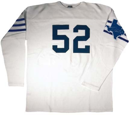 e616568bc69 1952 Dallas Texans Authentic Football Jersey from Ebbets Field Flannels.  CLICK IMAGE TO ZOOM