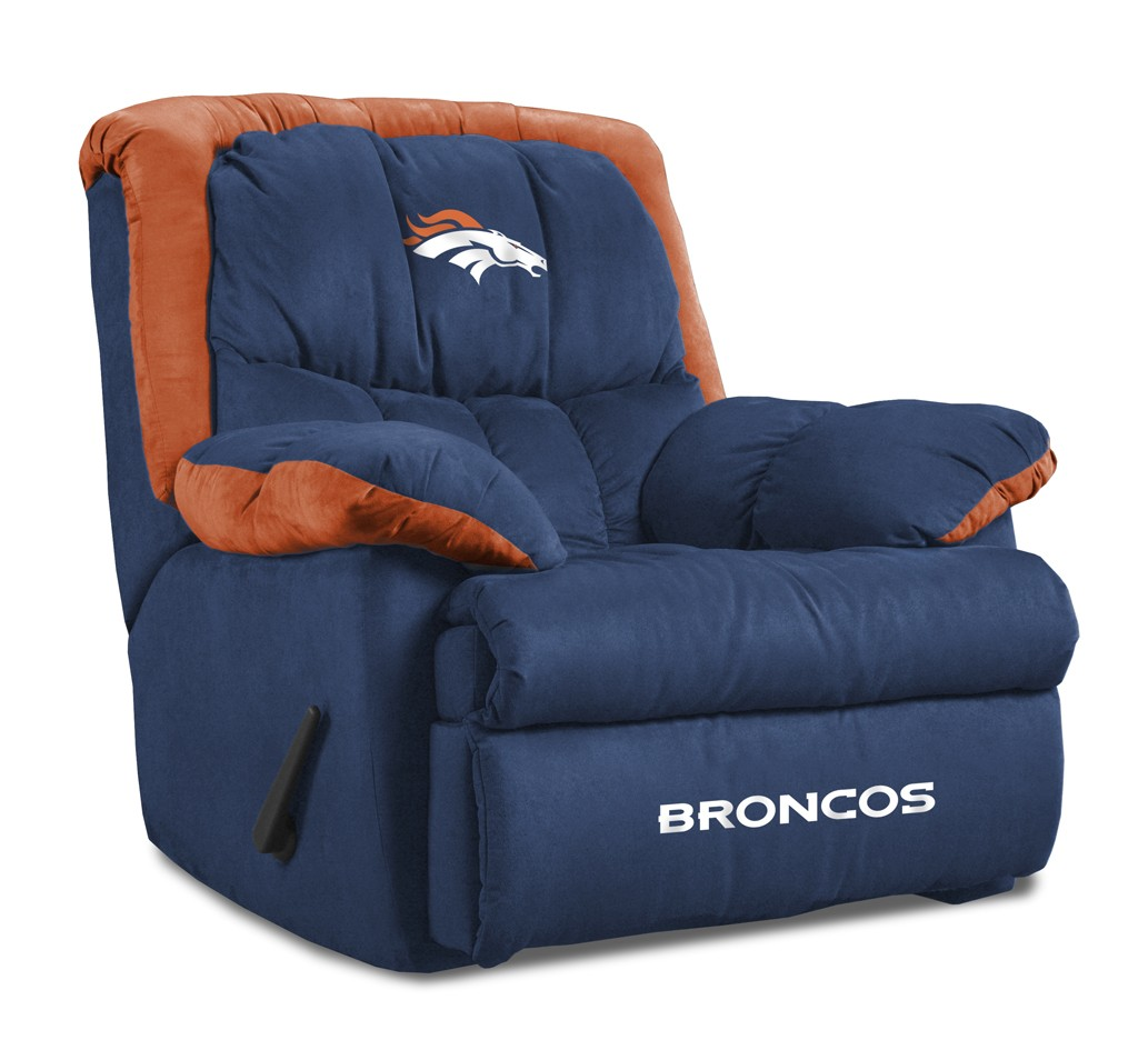 Denver Broncos Home Team Recliner Chair From Imperial International