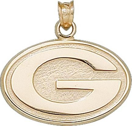 """Green Bay Packers 5/8"""" """"G"""" Pendant - 10KT Gold Jewelry ..."""