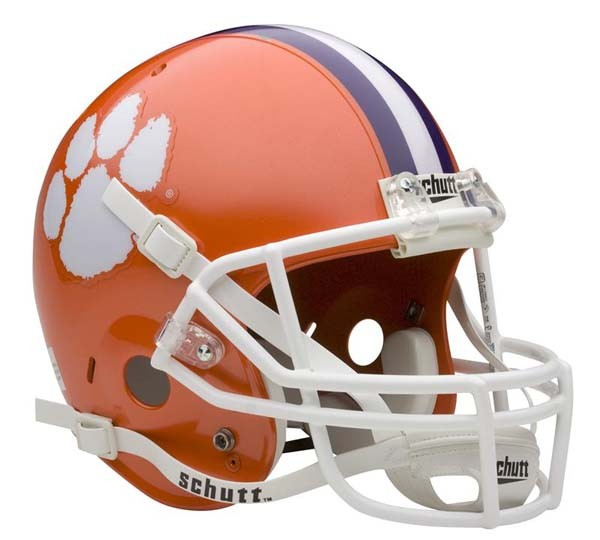 Size Schutt Full Football  Tigers Clemson NCAA Replica