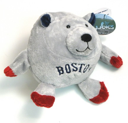 Boston Red Sox Gray Lubies Plush Stuffed Animal Toy Onlinesports Com